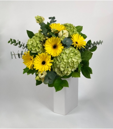 BOUQUET YELLOW SUNSHINE GERBERA
