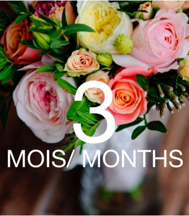 FLOWER SUBSCRIPTION 3 MONTHS