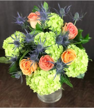 BLUE FLOWERS BOUQUET G2