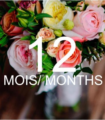 FLOWER SUBSCRIPTION 12 MONTHS
