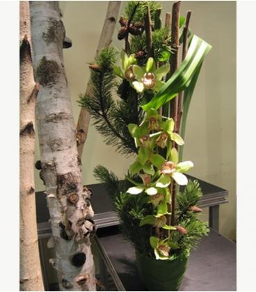 CHRISTMAS flower pot N1