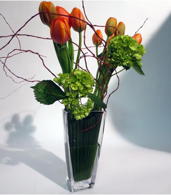 Bouquet printemps avec tulipes livraison laval for Livraison fleurs paypal