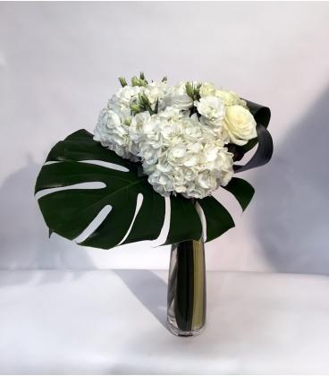 BOUQUET roses hydrangeas B37