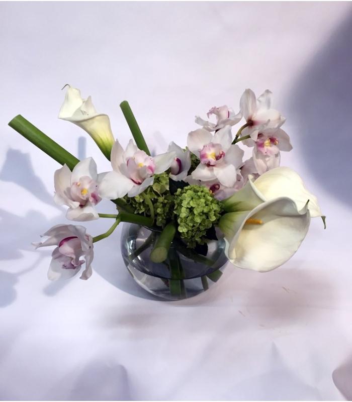 centres de table blanc fleuriste montreal. Black Bedroom Furniture Sets. Home Design Ideas