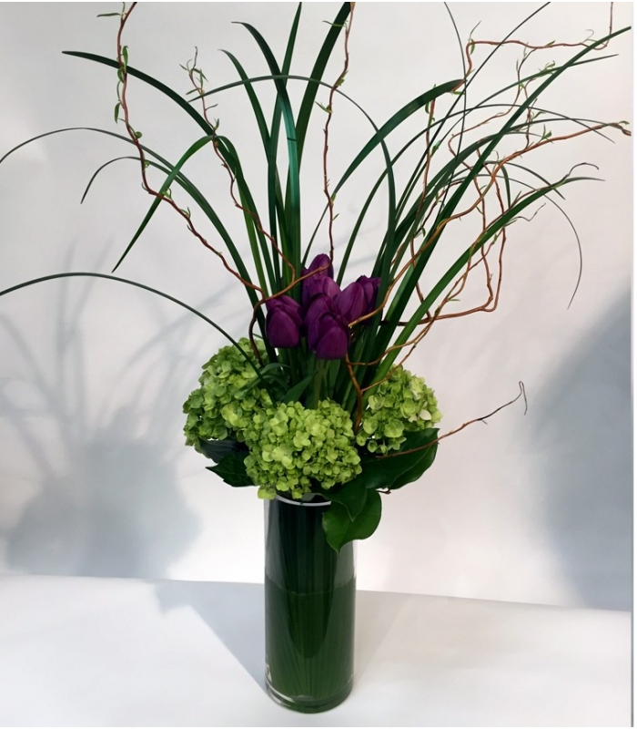 bouquet printemps avec tulipes livraison rapide. Black Bedroom Furniture Sets. Home Design Ideas