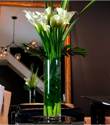 BOUQUET WHITE LUXURY FLOWERS