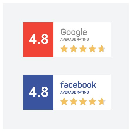 google reviews 4.8