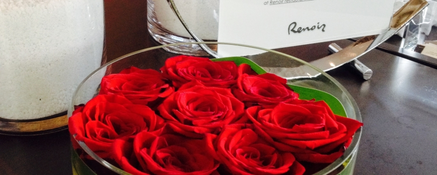 Roses rouges Hôtel